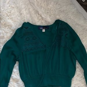 Teal top from Francesca's never worn